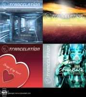 Trancelation CD-covers by Mar-ER