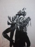 Batman Arkham City  T-shirt by PipisGamer
