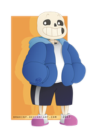 Vector study: Sans by Drahiny