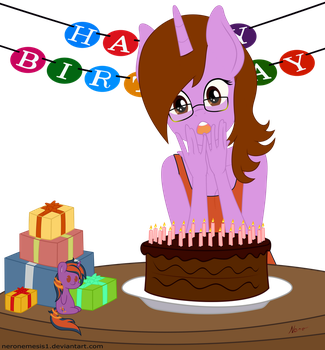 Happy Birthday SaturnStar by NeroNemesis1
