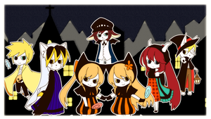 Dream Meltic Halloween Canarian UTAU chorus by Yen-mi