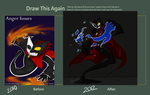 Draw This Again - Volix Anger Issues by DordtChild