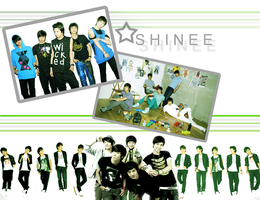 SHINee Wallpaper by browneyedfairy23