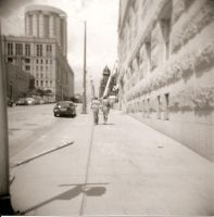 Lovers In The Street by Lomo440