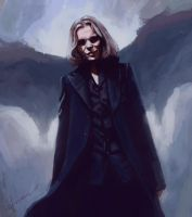 Ville Valo is a bat by Moolver-sin