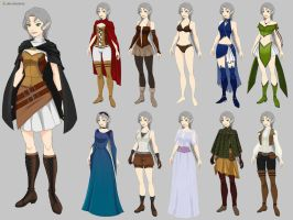 Elara Wardrobe (commission) by Precia-T