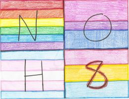 NOH8 LGBT Flags by Magenta2326