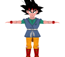 Goku Jr. by Lowpoly-Workshop