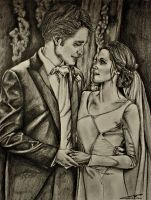 The wedding of Bella and Edward by Lmk-Arts
