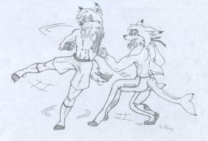 Sparring by The-Fall-of-Snow