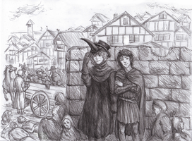 Good Omens: The Fourteenth Century by Kaytara