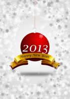 Happy New Year - 2013 by comodore64