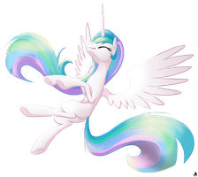 Princess Celestia by Bananers97