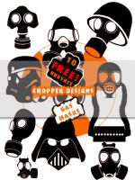 Chopper's Gas Mask Brushes by choppre