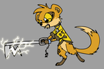 Kingdom Hearts Mongoose by Electric-Mongoose