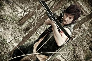 Daryl Dixon from the walking dead by TidusSurya