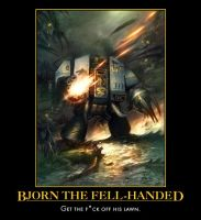 Bjorn The Fell-Handed by BegelDverl
