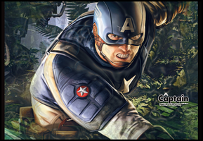Captain america signature by FebiGD