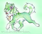 Wolf Saria by erwil
