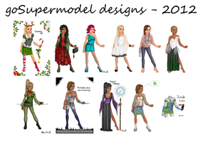 goSupermodel designs - 2012 by Vicingus