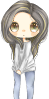 Me as a chibi ~,~ by lmsubscribing