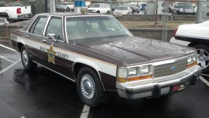 Wake County Sheriff LTD Crown Victoria by benracer