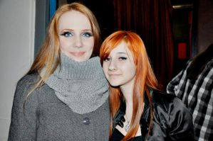 Me with Simone Simons III by lullusmassacre