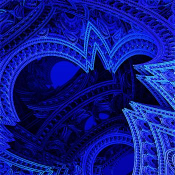 The Blue Palace by crypticfragments
