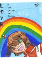 Love is like... by Wolvesloverwolf112
