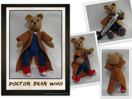 Doctor Bear Who by dragaodepapel