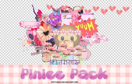 Pinkiee PACK - Download by fattyBear