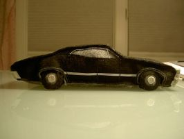 Plush Metallicar, view 2 by ldhenson