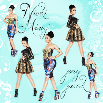 Png  Pack: Nicki Minaj by LightsOfLove
