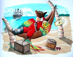 Peg Leg Pete's Finished by FreedomSparrow3
