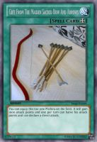 Gift From The Maiden Sacred Bow And Arrows by MegaElekid947
