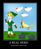 LoZ: Reals Heroes Know When to Run by NinjaFalcon90