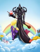 Malthael visits Whimsyshire by KathrinLoercher
