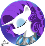 Rarity - Fashion Pin by ArwingPilot114