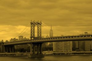 Manhattan Bridge by Nirr