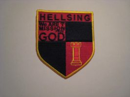 Hellsing Shield Cosplay Patch by melitza03