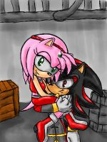Amy and Shadow by Tete-chin