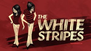 White Stripes by paperbeatsscissors