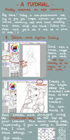 Soft Colouring Tutorial by onone-chan