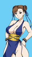 Chun li - Street Fighter 4 Outfit by dnaworld