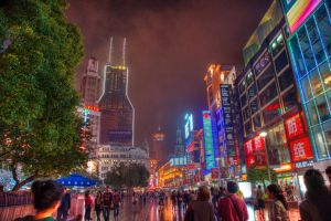 Shanghai by night by pascalbrax