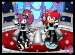 CE: Cici and Revi at the Olympic Winter Games by CCgonzo12