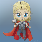 The Mighty Thor by dephigravity