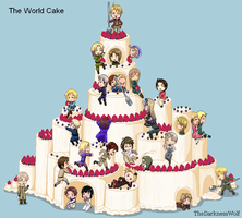 The World Cake by TheDarknessWolf
