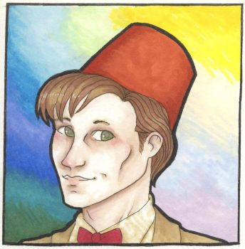 11th doctor by Lilhian