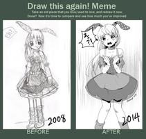 Redraw Meme by Akimiya